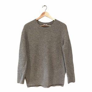 GAP | Shaker Stitch Wool Crew Neck Pullover | XS